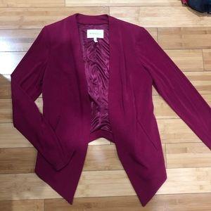 BCBGeneration Open Front Tuxedo Blazer Size M
